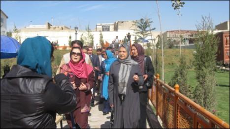 باغ شهر آرا شهر بانو، عمه ظهیرالدین محمد بابر، بنیانگذار سلسله تورکان گورگانیان هند ساخته است